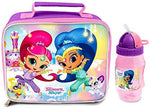 Shimmer and Shine Lunch Bag/Box and Flip 'n' Sip Bottle (352ml)