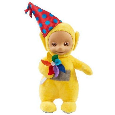 Teletubbies 22cm Talking Party Laa Laa Soft Plush Toy