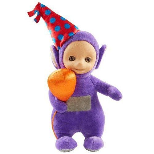 Teletubbies 22cm Talking Party Tinky Winky Soft Plush Toy