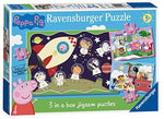 Ravensburger Peppa Pig 3 In A Box Jigsaw Puzzles (15, 20, 25pc)