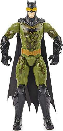DC Comics BATMAN 6060019 12 inch Action Figure (Camo Suit)