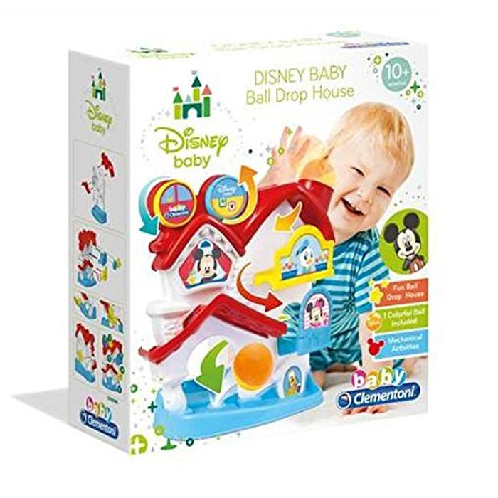 Clementoni Disney Mickey Mouse Baby Ball Drop House Playset