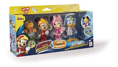 Disney Mickey Mouse and the Roadster Racers Bath Toy Figures (Pack of 4)