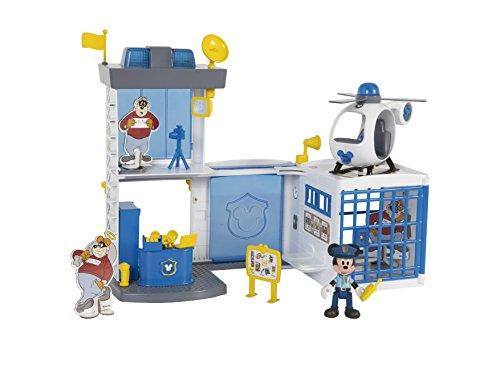 Disney Mickey Mouse Police Station Playset with Lights and Sounds!