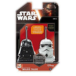 Disney Star Wars Darth Vader and Storm Trooper Walkie Talkies