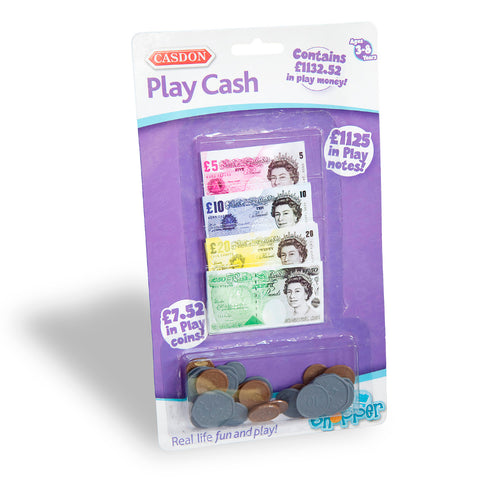 Casdon Play Cash Set - �1132.52 in Toy Pretend Money
