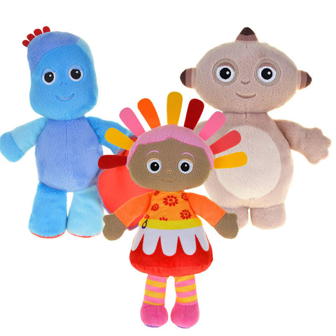 In the Night Garden Singing Snuggle Plush Set - Igglepiggle Upsy Daisy & Makka Pakka