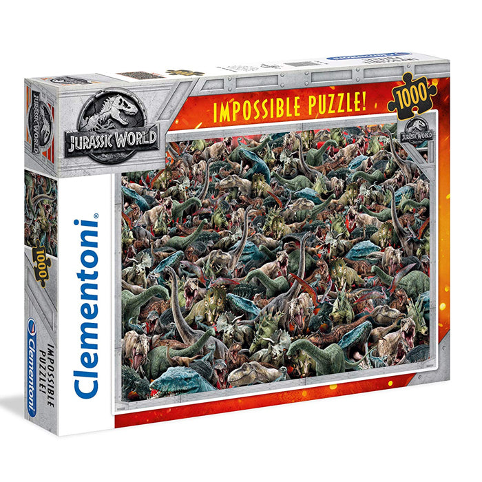 Clementoni Jurassic World 1000 Piece Impossible Puzzle
