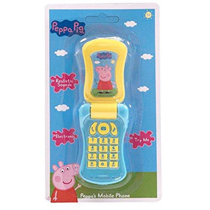 Peppa Pig Electronic Mobile Flip Phone With Sounds