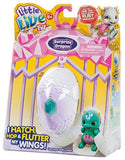 Little Live Pets Series 1 Dragon Single Pack Figure Blue/Green Egg