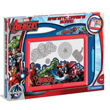 Clementoni Marvel Avengers Magnetic Drawing Board Large Scribbler