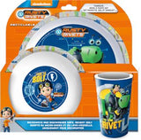 Rusty Rivets 6 Piece Tableware and Cutlery Set