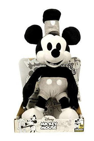 Official Disney Mickey Mouse 90th Birthday Limited Edition 36cm Steamboat Willy