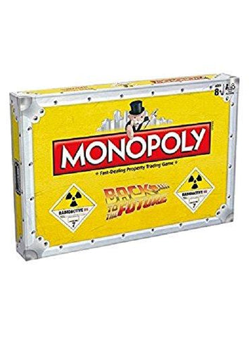 Hasbro Back To The Future Monopoly Board Game Collectors Edition