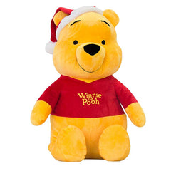 Disney Christmas Winnie The Pooh Large 25'' Soft Plush Toy