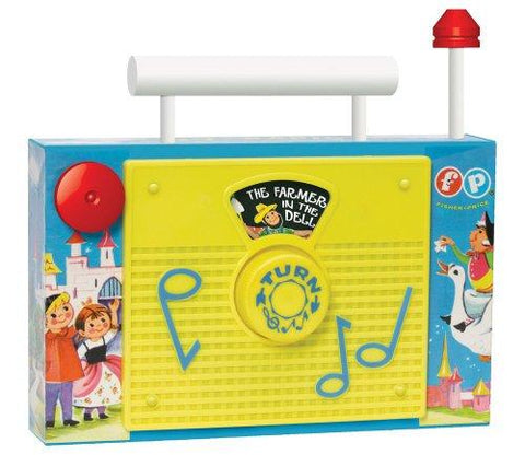 Fisher Price Classics TV Radio 1703 Retro toy