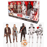 Star Wars The Last Jedi Deluxe 12'' Action Figure Box Set