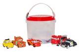 Official Disney Pixar Cars Bath Toy Set