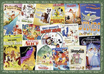 Ravensburger Disney Vintage Movie Posters, 1000pc Jigsaw Puzzle 19874