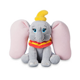Official Disney Sitting Dumbo 19cm Mini Bean Bag Plush