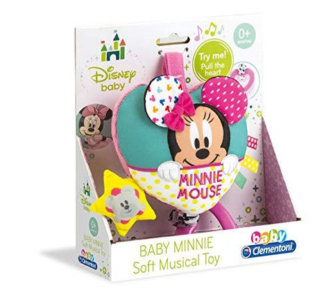 Clementoni Disney Baby Minnie Mouse Soft Carillon Musical Cot Toy