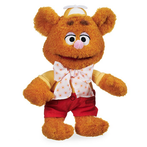 Official Disney Muppet Babies Fozzie Bear Small Soft Plush