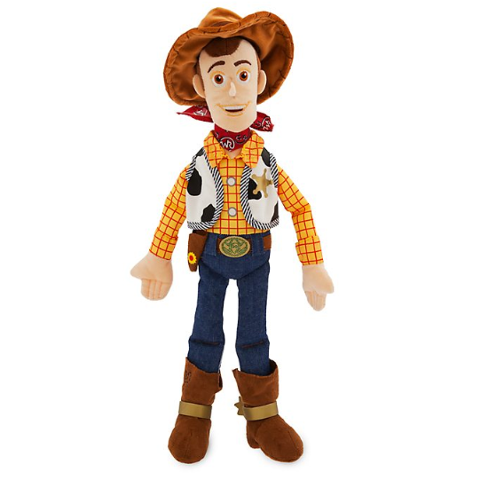 Official Disney Toy Story 4 Woody Medium 45cm Soft Plush