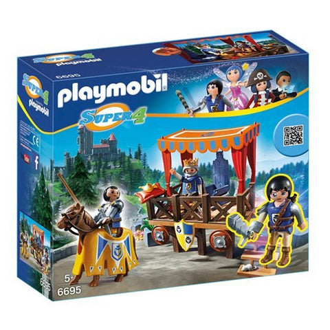 Playmobil Super 4 Royal Tribune With Alex