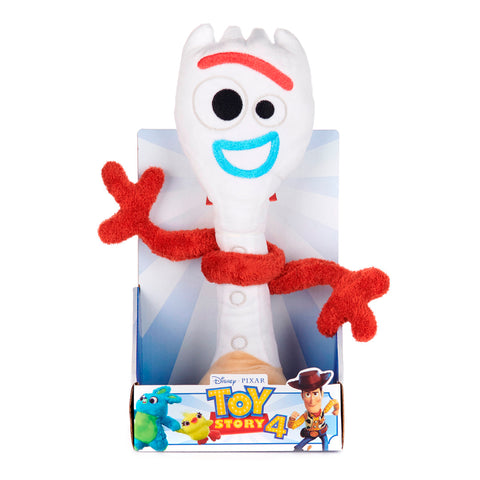 Disney Pixar Toy Story 4 Forky Soft Toy in Gift Box