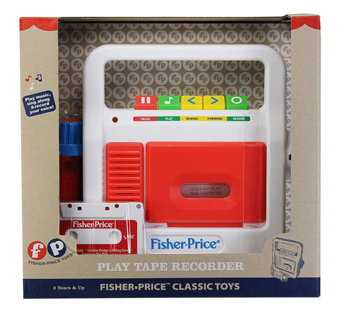 Fisher-Price Classics Play Tape Recorder
