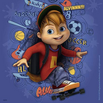 Ravensburger Alvin & The Chipmunks, 3x 49pc Jigsaw Puzzles
