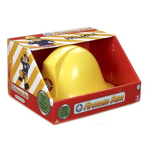 Fireman Sam Helmet With Sound Plays Theme Tune