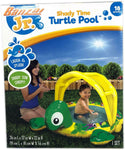Banzai Jr Shady Time Turtle Pool with shady sun canopy