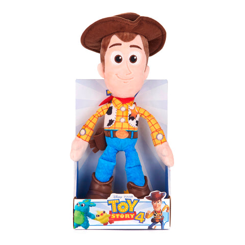 Disney Pixar Toy Story 4 Woody Soft Plush Doll in Gift Box