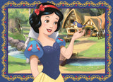 Jumbo 19460 Disney Princess 4 in 1 Jigsaw Puzzle Pack