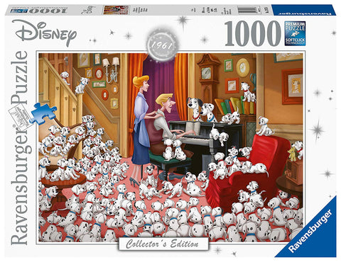Ravensburger 13973 Disney Collector's Edition 101 Dalmations 1000pc Jigsaw Puzzle