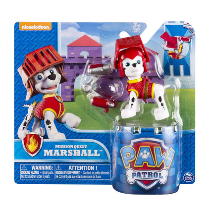 Paw Patro Mission Quest Marshall Hero Pup Figure