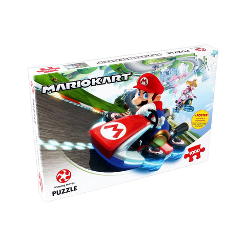 Mario Kart Funracer 1000 Piece Jigsaw Puzzle