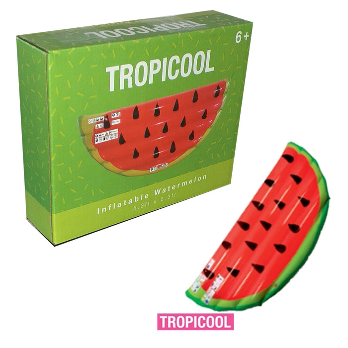 Tropicool Inflatable Watermelon 5.3ft x 2.3ft