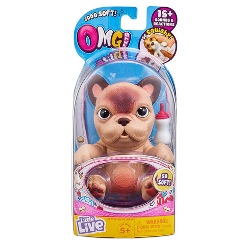Little Live So Soft OMG Pets Series 1 Figure - Pierre
