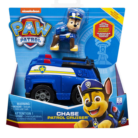 Paw Patrol Chase Patrol Cruiser Vehicle With Figure