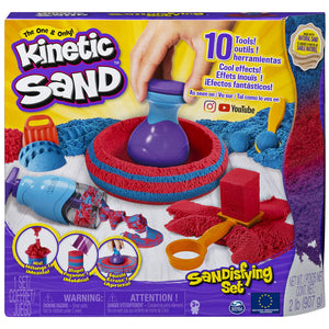 Kinetic Sand Sandisfying Set With 906 g Of Sand & Tools