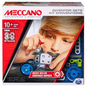 Meccano Quick Build Innovation Set With Real Tools 6047095