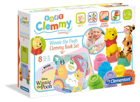Clementoni Disney Winnie The Pooh Soft Clemmy Sweet Seasons Book Set