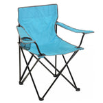 Alfresco Living Classic Folding Camping Fishing Armchair Turquoise