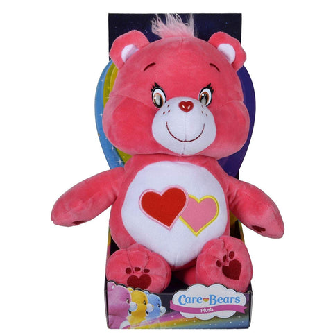 Care Bears Boxed Toy 12 Inch Love A Lot Bear Super Soft Plush