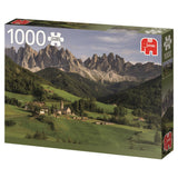 Jumbo Premium Puzzle Collection 'Dolemites Italy' 1,000 Piece Jigsaw Puzzle