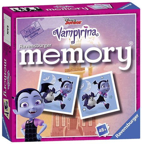 Ravensburger 21431 Disney Vampirina Mini Memory Game
