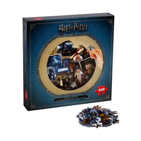 Winning Moves 2480 Harry Potter And The Philosophers Stone Jigsaw Puzzle 500pc