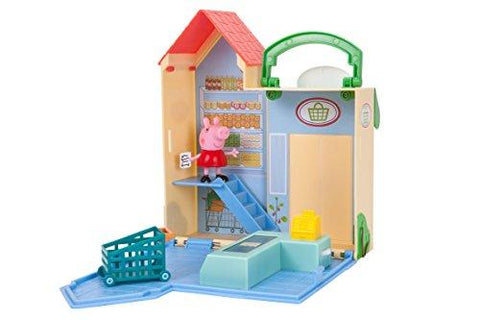 Peppa Pig Little Places Grocery Store Playset With Peppa Figure